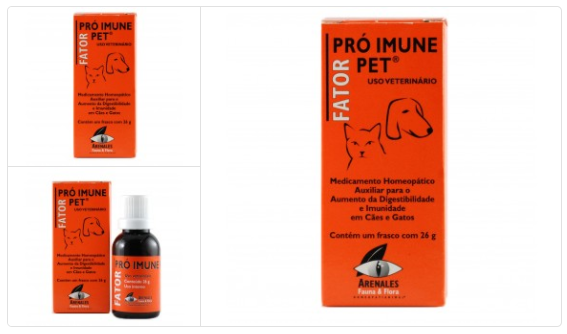 remedio para sistema imunologico pet